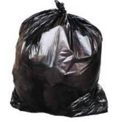 Trash bag post